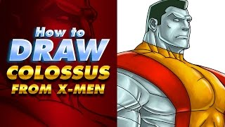 Speed drawing Colossus X MEN