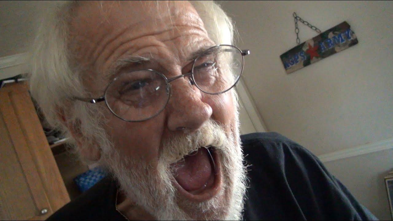 Angry Grandpa Dead >> GRANDPA'S OUT OF CIGARETTES!! - YouTube