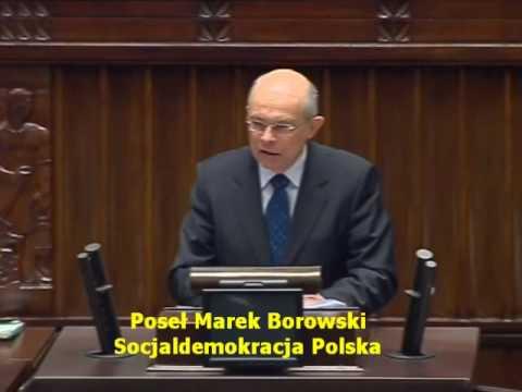 Poseł Marek Borowski o ustawie o likwidacji IPN