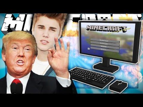 Если бы известные люди играли в майнкрафт | Майнкрафт машинима