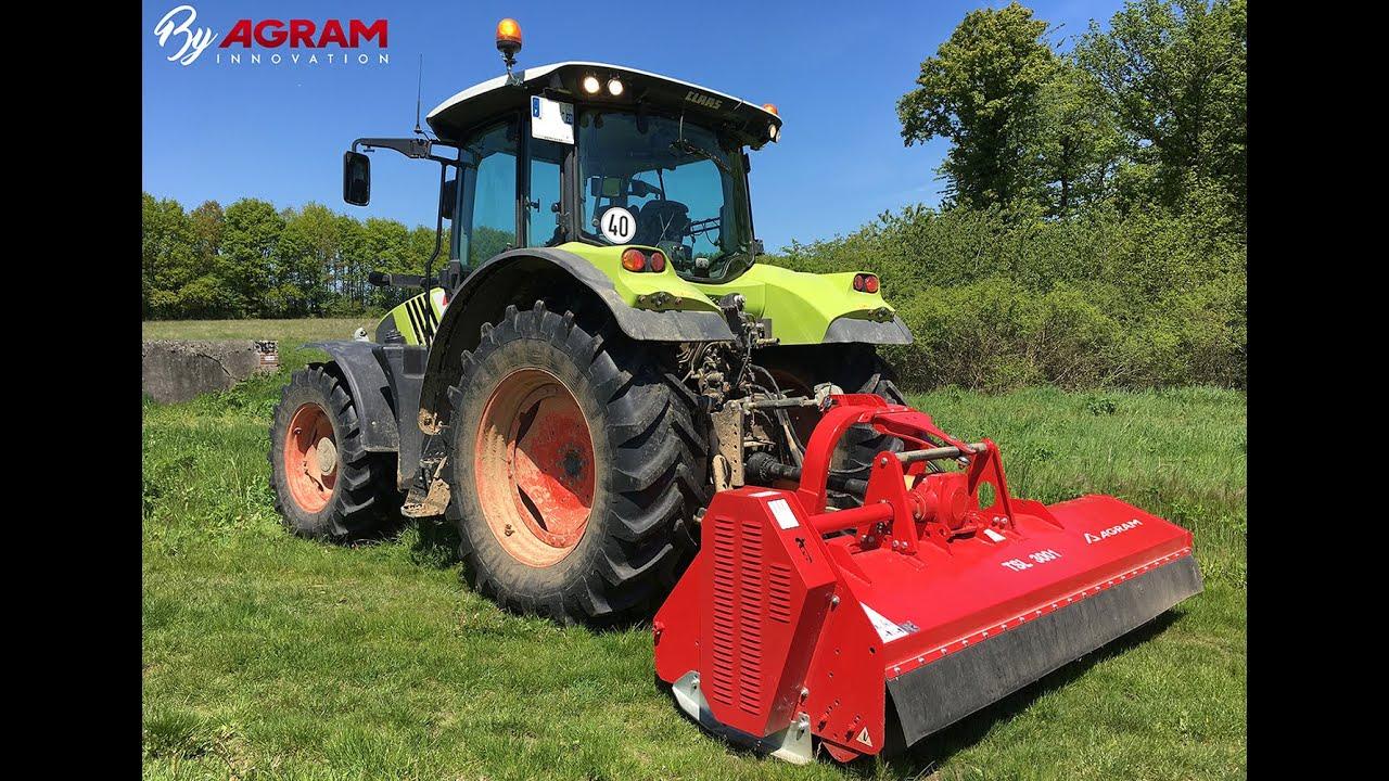 Broyeurs Pour Tracteurs De 60 A 120 Ch Puissant Broyeur Agricole Agram Fr