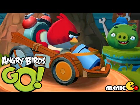 Angry Birds Go! Team Multiplayer Racing with Fans