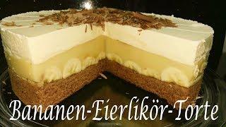 Thermomix® TM5   Bananen - Eierlikör - Torte