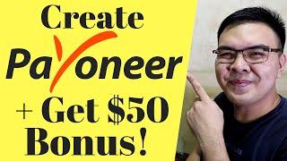 How to Create Payoneer account Philippines + Free 35$ Bonus