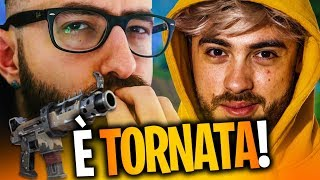 IT'S TORNATA THE TATTICAT MITRAGLIT! PATCH REVIEW feat. MARZA FORTNITE ITA