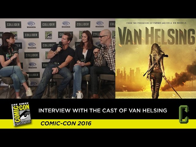 Interview With The Cast Of Syfys Van Helsing - San Diego Comic Con 2016