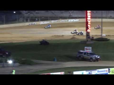 Lawrenceburg Speedway Indiana Midget Week A Main Pt 2  6-8-19