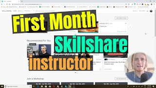 My First Month on Skillshare as a Teacher