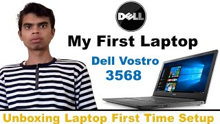 dell Vostro 3568 i3 7th gen  Windows 10 single Laptop Unboxing and Review   Dell Vostro 3568
