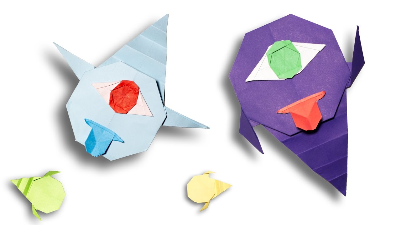 Origami ghost diy for kids and beginners youtube origami ghost diy for kids and beginners jeuxipadfo Choice Image