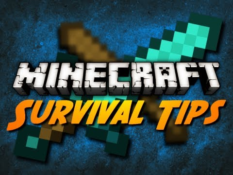 Minecraft: PVP & SURVIVAL TIPS FOR HUNGER GAMES SURVIVAL!