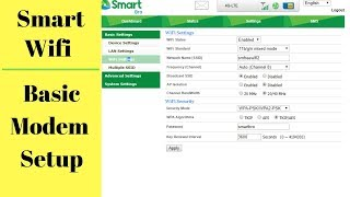 Paano Mag Setup ng Smart Prepaid LTE Home Wifi  - Beginners Tutorial - Change Password, Hide Wifi