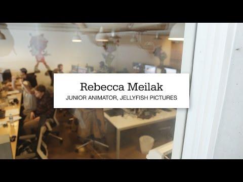 Rebecca Meilak, Junior Animator At Jellyfish Pictures