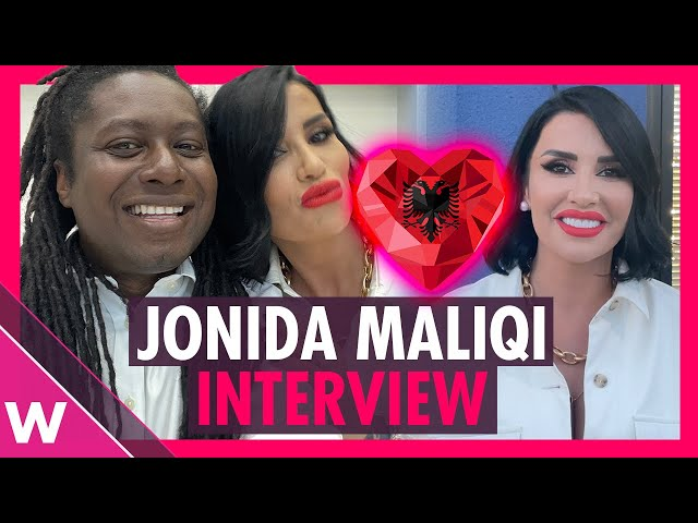 Jonida Maliqi - Albania Eurovision 2019 Interview @ Kënga Magjike 2021