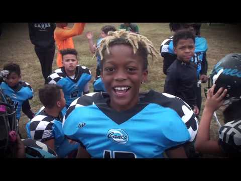Prince Frederick Eagles Vs Huntingtown Canes 8u 2019 - 6 TD Runs In 1 Drive