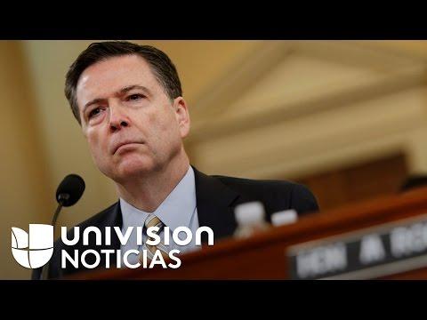 James Comey acepta comparecer ante el Comité de inteligencia del Senado en audiencia pública