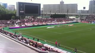 J.League Cerezo v Vissel pre-game Kiyotake Kagawa Japan football soccer Inoha Okubo