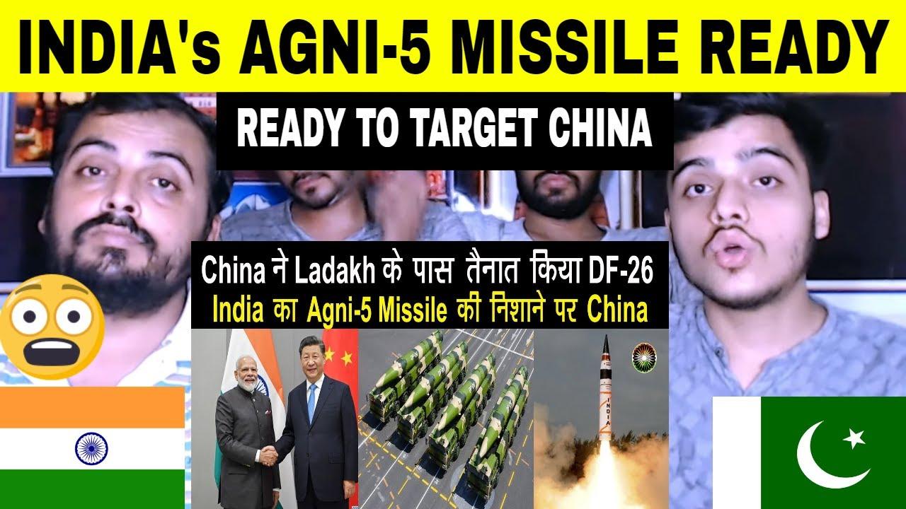 Pakistani Reaction on India का Agni-5 Missile China को लिया निशाने पर