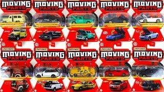 トミカサイズで全車ギミック付きのミニカー パガーニ、ジープ、シボレー、ランドローバー、ホンダ、日産 マッチボックス ムービングパーツ
