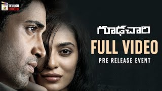 Goodachari Movie FULL VIDEO | Pre Release Event | Adivi Sesh | Sobhita Dhulipala | #GoodachariMovie