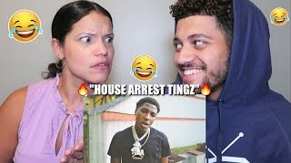 "MOM REACTS TO NBA YOUNGBOY! ""HOUSE ARREST TINGZ"" *FUNNY REACTION*"