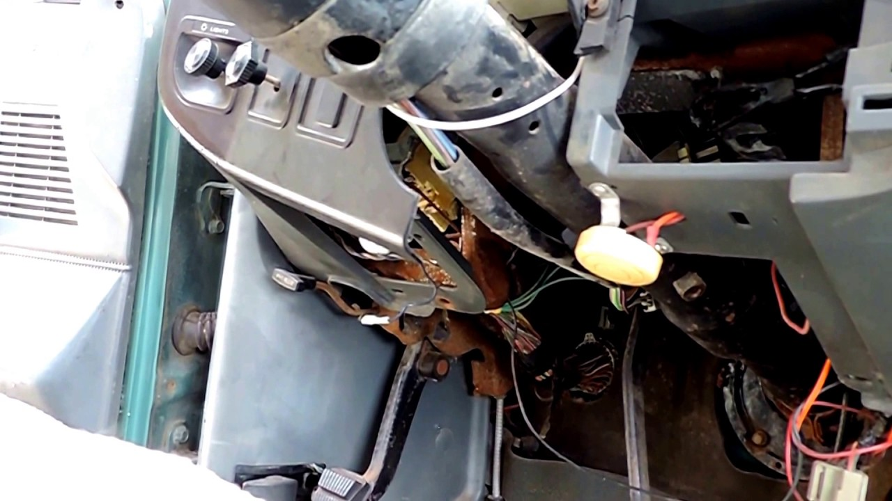 how to replace ignition switch on 89 ford f150 [ 1280 x 720 Pixel ]