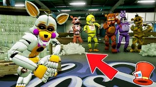WITHERED ANIMATRONICS BIGGEST SECRET EVER! (GTA 5 Mods For Kids FNAF RedHatter Funny Moments)