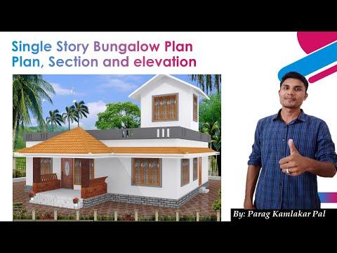 Bunglow plan