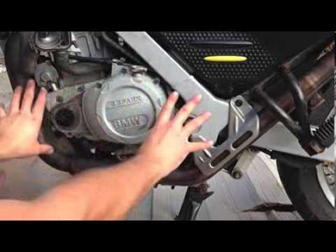 BMW F650GS Motorcycle Clutch Change Step By Step - YouTube
