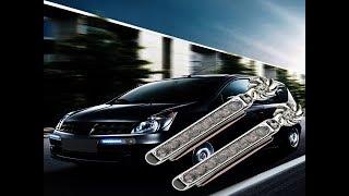 2Pc/set car light Wind Energy No Need External Power Supply Car Daytime