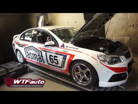 RAWR Racing VF Commodore - WTFauto Dyno Pull