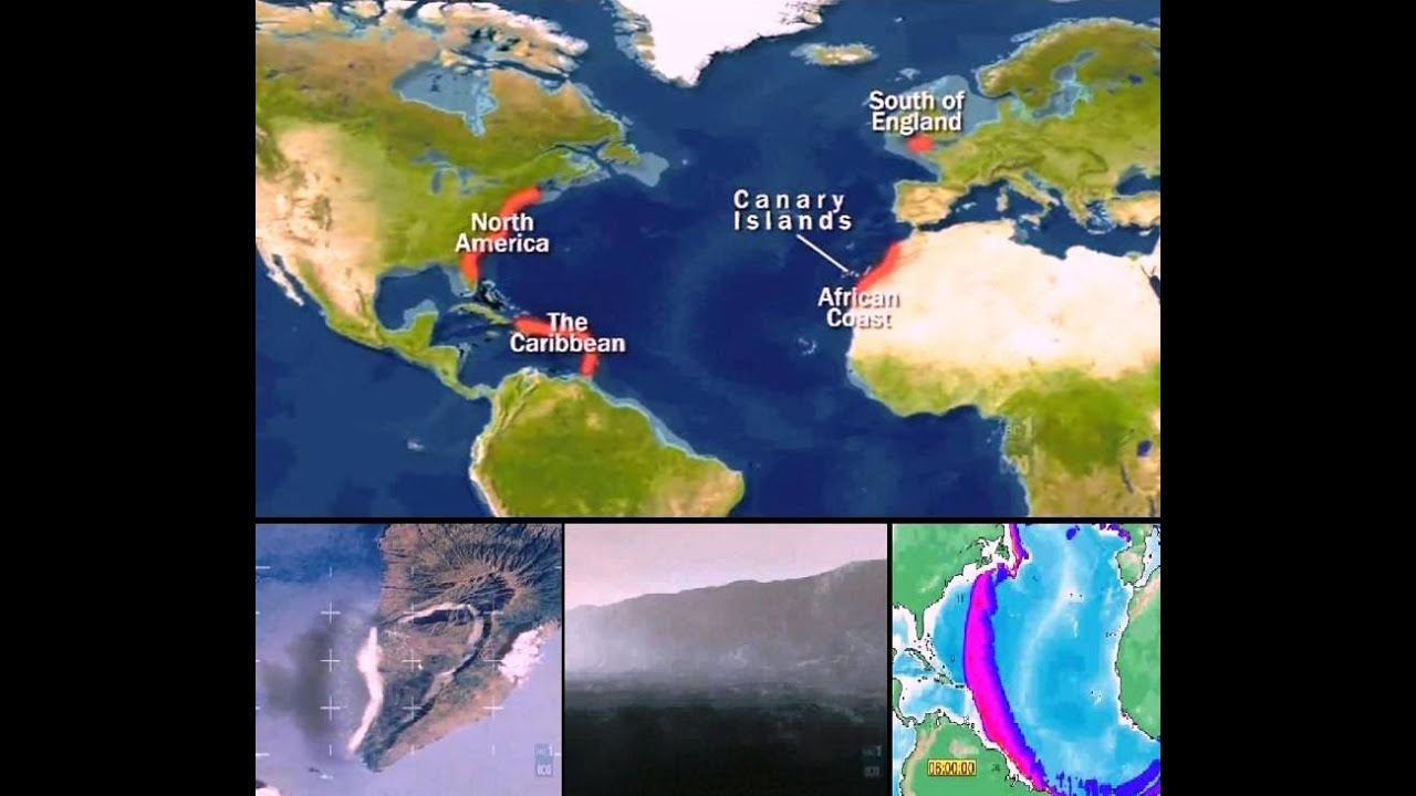 Possivel Mega Tsunami ilhas canarias - YouTube