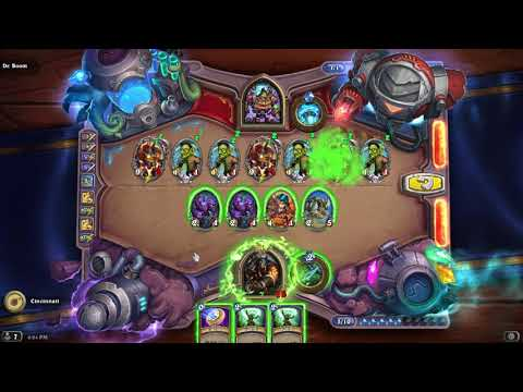 GUIDE: Clear Dr. Boom Boomsday Puzzle Secret Lab Board Clear Solutions / Answers - (Hearthstone)