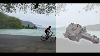Olympiades de Sciences de l'Ingénieur 2021 – EQUIPE 7 – Leg's go : pédale automatique pour handicapé