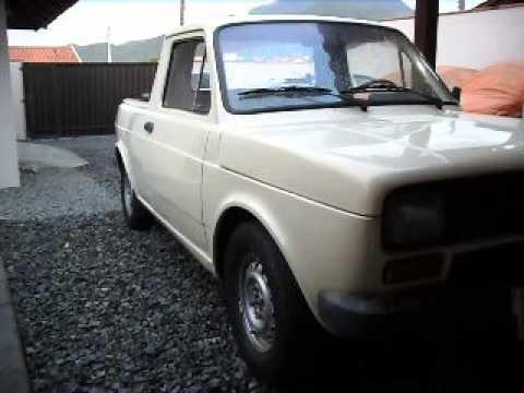 Vendo Unico Dono Fiat 147 Pick Up 1979 Bege 2 Portas Youtube