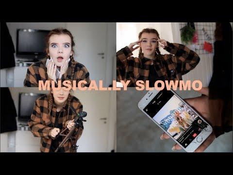 MUSICAL.LY SLOWMO WITH UPDATE! (+Meine MARKE)⎪Melina Celine
