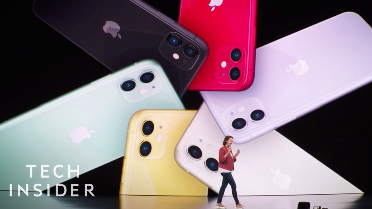 Watch Apple Unveil The New iPhone 11, 11 Pro, 11 Pro Max