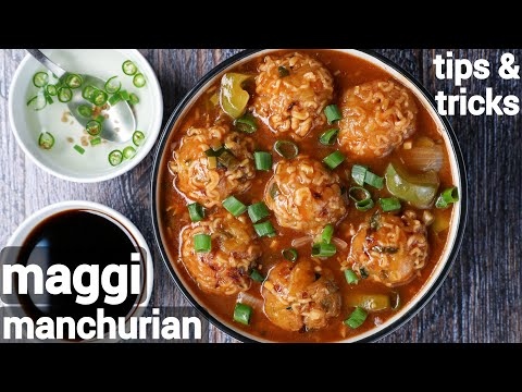 maggi noodles manchurian recipe – street style | manchurian maggi recipes | kids special recipes