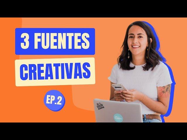 GRATIS: FUENTES CREATIVAS EN CANVA # 1 | Shorts Diana Muñoz
