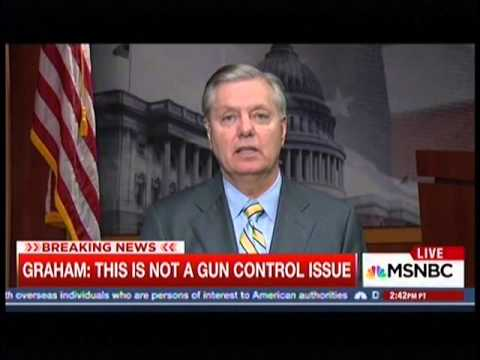 Graham Reacts to San Bernardino Shooting on MTP Daily
