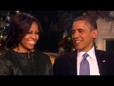 The Obamas: Christmas at the White House