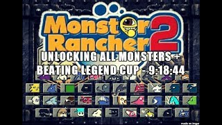 Monster Rancher 2 - 100% Speedrun in 9:18:44