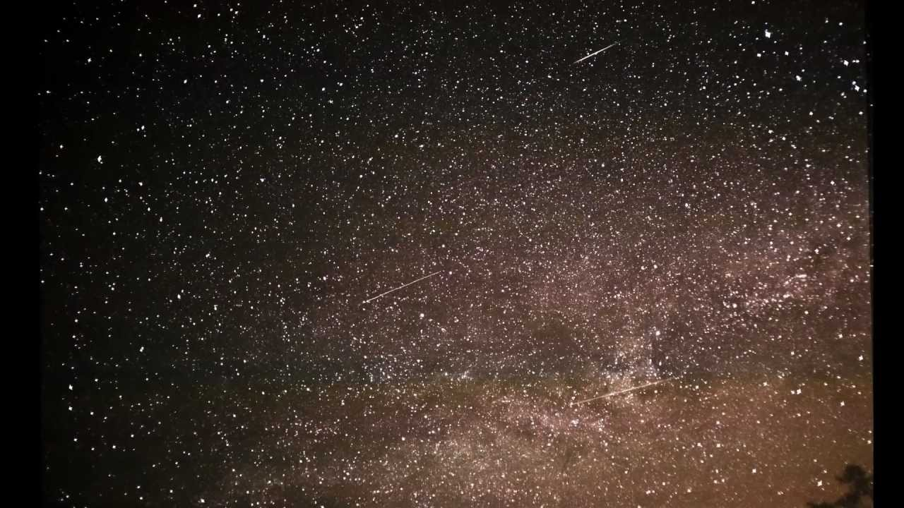 Lyrid Meteor Shower 2012 Time Lapse