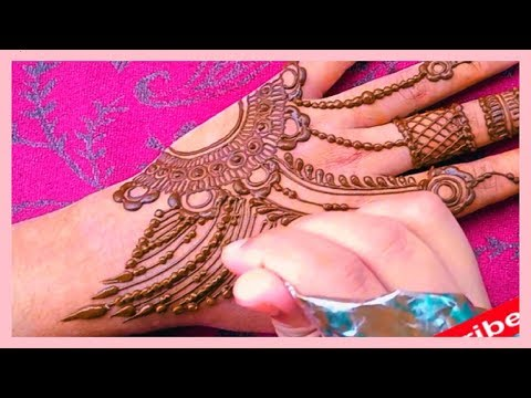 Quick Jewelry Mehndi design | New Creation |  Shimmi's Henna World