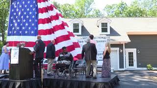 Cpl. Larry Bailey Home Dedication