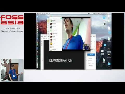 Ring a decentralized and secure communication platform - Alexandre Lision - FOSSASIA Summit 2016