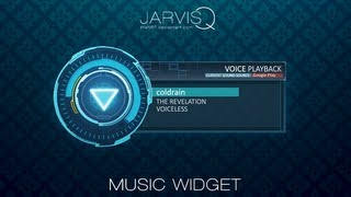 "JARVISQ ""IRON UI"" Music Widget - Tutorial (Android)"