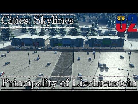 Cities: Skylines    Principality of Liechtenstein #2