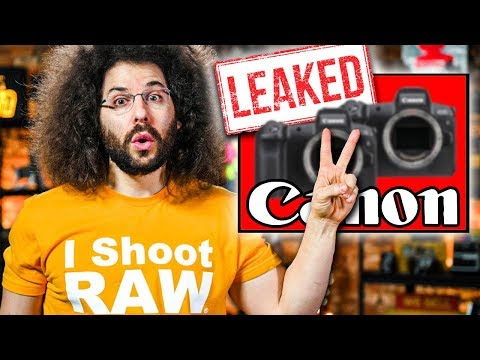 CANON's 2 NEW CAMERAS LEAKED?! NEW Nikon D6 Specs?