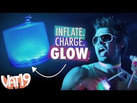 Solar LED Inflatable Lantern
